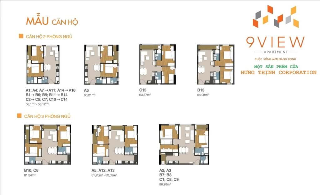 thiết kế căn hộ 9 view